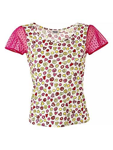 moschino-donne-maglietta-multicolore-44