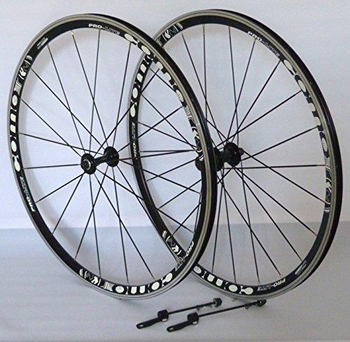 hrrad Laufradsatz Rennrad PRO LITE Hohlkammerfelge schwarz Messerspeichen schwarz ()