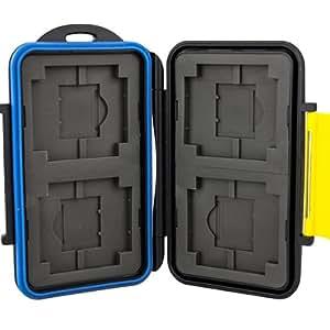 Speicherkarten Schutzbox für CF Compactflash und SD(HC) (XC) Karten - Pro Duo und XD Karten - Wasserdicht