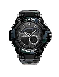 Reloj Deportivo Digital Pantalla LED Relojes Militares de Gran Cara y  cronómetro Impermeable Luminoso Casual Impermeable 86ff83a36810