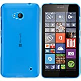 moodie Silikonhülle für Microsoft Lumia 640 Hülle in Blau - Case Schutzhülle Tasche für Microsoft Lumia 640