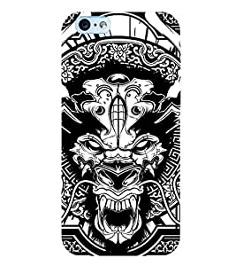 Printtech Horror 2 Original Soft Shockproof Back Case Cover for Apple iPhone 6 Plus / iPhone 6s Plus