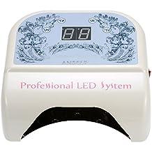 Anself 100-240V 48W LED Pro chiodo essiccatore indurimento lampada macchina con Display LCD Touch Sensor per Nail Art Smalto Gel che cura Salone strumento EU spina