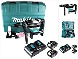 Makita DHR400PG2U Akku-Kombihammer SDS-MAX 2X 18 V