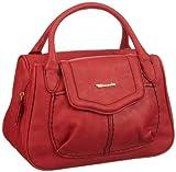 Tamaris Mirijam Bowling Bag A-1-110-11-301, Damen Bowlingtaschen, Rot (cadmino 503), 30x21x13 cm (B x H x T)