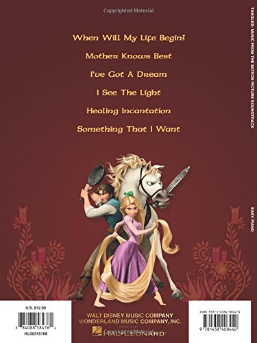 Tangled: Music from the Motion Picture Soundtrack: Easy Piano (Easy Piano Songbook)