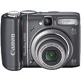Canon PowerShot A590 IS Digitalkamera (8 Megapixel, 4-fach opt. Zoom, 6,4 cm (2,5 Zoll) Display, Bildstabilisator) schwarz