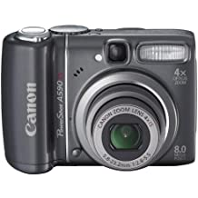"Canon PowerShot A590 IS 8MP 1/2.5"" CCD 3264 x 2448Pixel Nero"