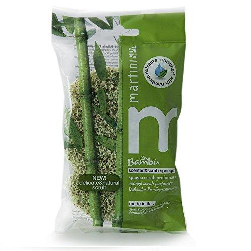 martinispa bambou éponge parfumée Scrub bambou – 45 g