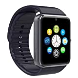 #3: Bluetooth Smart Watch Compatible with All Apple Android, Samsung, iPhone , Lenovo, XIOMI, REDMI Oppo, VIVO, Motorola,IOS, Windows all 3G , 4G Phone With Camera and 3G Sim Card Support With Apps like Facebook and WhatsApp Touch Screen Multilanguage Android/IOS Compatible