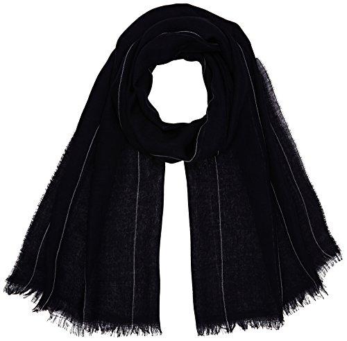 filippa-k-womens-spring-pinstripe-scarf-scarves-blue-bright-nav-one-size