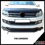 Frontal estribo Protección Frontal Negro 76mm para Volkswagen Amarok a partir de 2010