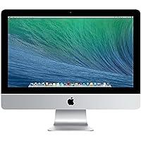 "Apple iMac 21,5"", Desktop Computer, Processore Intel i5 dual-core a 1,4GHz, 8GB di RAM DDR3 a 1600MHz, Disco rigido Serial ATA da 500GB a 5400 giri/min, Intel HD Graphics 5000"