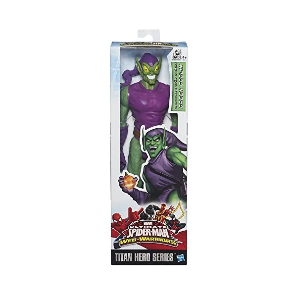 Spider-Man Marvel Ultimate Titan Hero Series Green Goblin - Muñeco de 30 cm 2