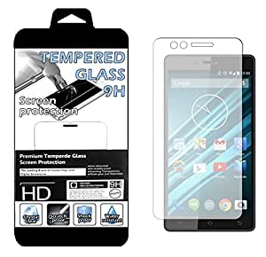 Film Protecteur d'écran en VERRE TREMPE pour Logicom L-Ement 550 Ultra Transparent Ultra Résistant INRAYABLE INVISIBLE