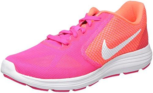 Nike Damen Revolution 3 Laufschuhe, Pink (Pink Blast/White-Bright Mango), 38 EU
