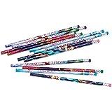 Disney Frozen (Eiskönigin) - 12 Stück Bleistifte mit Radierer, in 4 Designs (super zum Befüllen von Partytüten)