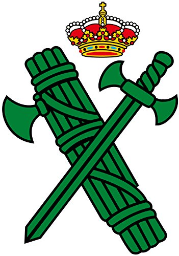 Artimagen Pegatina Logotipo Guardia Civil 40x60 mm