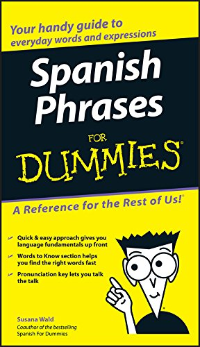 Spanish Phrases For Dummies por Susana Wald