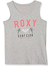 Roxy Sitting There Top Camiseta, Niñas, Gris (Highrise/Heather), 14/XL
