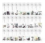Retro-Stil inspirierende Fotos chinesischen Lesezeichen(30 Stück)