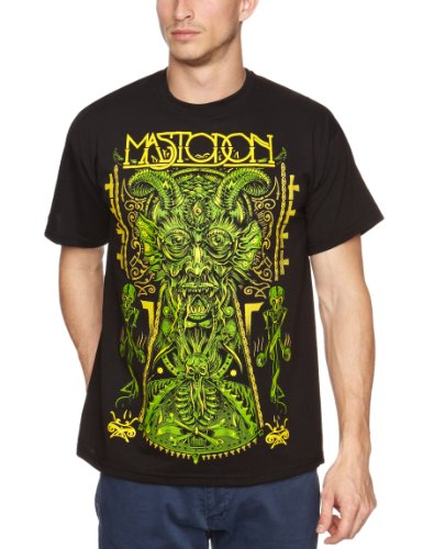 Loud Distribution Herren T-Shirts , Rundkragen Schwarz - Black