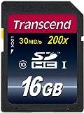 Transcend 16 GB Premium SDHC Memory Card