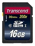 Transcend 16 GB Premium SDHC Memory Card, FFP