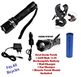 Best Tactical Led Flashlights - UDee Rechargeable Bicycle Headlight SWAT LED Tactical Zoom Review