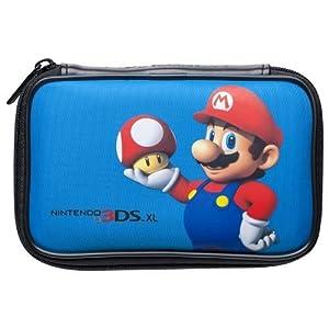 """Nintendo 3DS XL / 3DS / DSi – Tasche """"Mario Bros."""" Mario mit Pilz blau"""