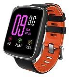 YAMAY Smartwatch Wasserdicht IP68 Smart Watch Uhr mit Pulsmesser Fitness Tracker Sport Uhr