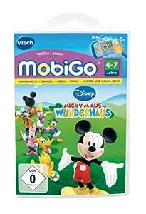 Vtech 80 250504 mobigo jeu la maison de mickey jeux et jouets - Jeux de cuisine de mickey ...