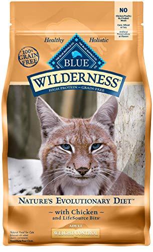 Blau Buffalo Wilderness High Protein Trockenfutter für Erwachsene Katzen,