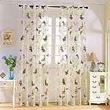 Romantische Schmetterling VorhäNge Jalousien Und VorhäNge VorhäNge Wohnzimmer VorhäNge Wohnzimmer Wohnkultur,350cm*260cm