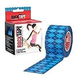 RockTape rt-tpe0-ba00Tape kinesiológica, Argyle Blue, 2/5cm/5M