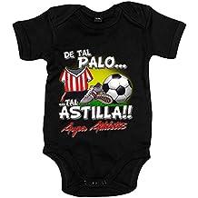 Body bebé De tal palo tal astilla Athletic fútbol Bilbao