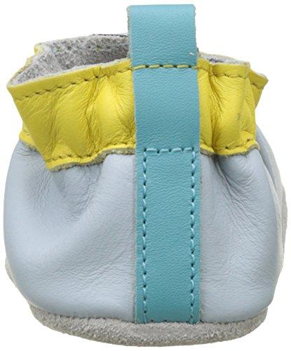 Robeez Beach Balloon, Chaussures de Naissance Bébé Garçon Bleu (Bleu Clair)
