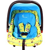 R for Rabbit Picaboo - Infant Car Seat cum Carry Cot for New Born Infant/baby(Yellow Blue)