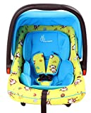 R for Rabbit Picaboo - Infant/Baby Car Seat cum Carry Cot for New Born Infant/baby(Yellow Blue)