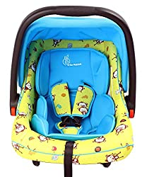 R for Rabbit Picaboo - Infant Car Seat cum Carry Cot (Yellow Blue)