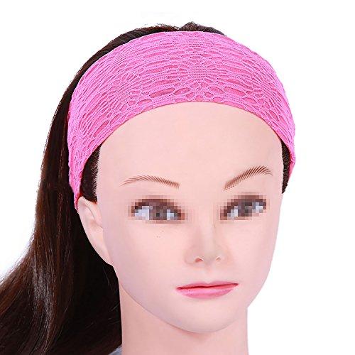 Funyye Fashion Frauen Lady Weiche Baumwolle Elastic Stretch Sport Schweißband Headbands Mädchen Haar Band Yoga Stirnband Turban Stirnband Haar-Band Zubehör - Farbe #6 (Golf Feuchtigkeit Wicking)