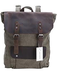 231f548b FAIRY COUPLE Nuevo Unisex Mujer Hombre estilo Vintage mochila todos los  días bolsa de lona con el bolso de hombro…