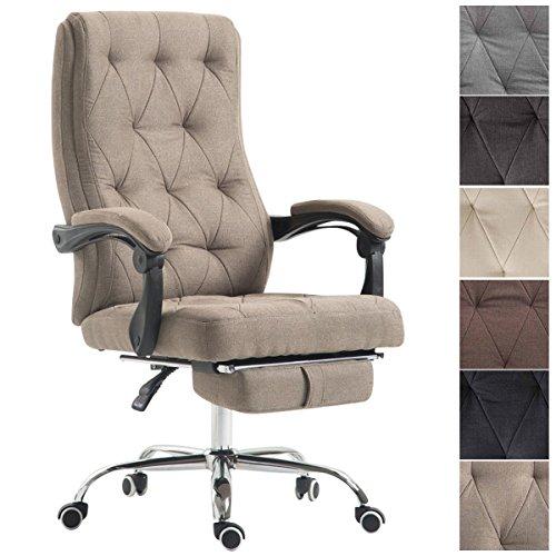 Bürostuhl Byron Stoff Chefsessel Drehstuhl Büro Stoffbezug Schreibtischstuhl