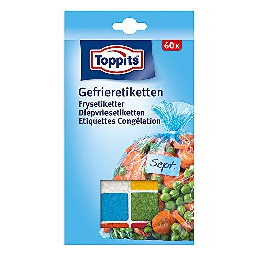 Toppits Gefrieretiketten, 1er Pack (1 x 60 Stück)