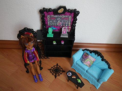 Mattel X3721 - Monster High Clawdeen Kaputtschino-Ecke, inklusiv -