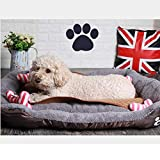 REXSONN® Hundebett kuscheliges, waschbares Hund Bett Hundekissen - 8