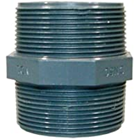 Doppelnippel m. AG 1 1/2' aus PVC