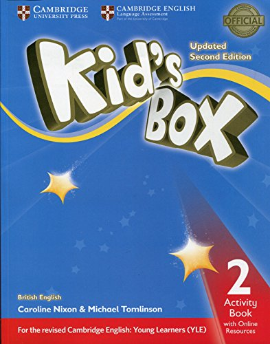 Kid's Box Level 2 Activity Book with Online Resources British English par Caroline Nixon