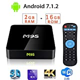 Android TV Box 2018 4K TV Box Amlogic Quad Cord Android 7.1.2 Smart