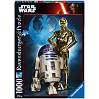 Ravensburger Italy 19682 - Puzzle R2-D2 & C-3PO Star Wars Collection, 1000 Pezzi